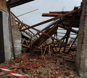 В районе Зауторн разрушены дома. Фото: mittelbayerische.de