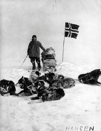 14 декабря 1911 года Амундсен достиг Южного полюса. Фото: spiegel.de