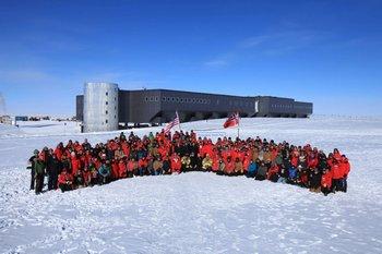 Юбилей Амундсена празднуют на Южном полюсе. Фото: spiegel.de