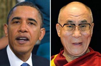 Обама встретился с Далай-ламой – Китай возмущен Фото: freiepresse.de