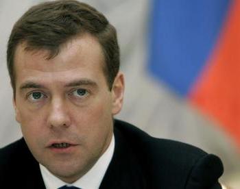 Президент России Дмитрий Медведев. Фото: handelsblatt.com