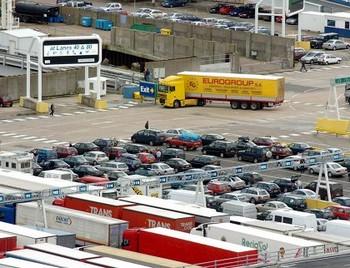 Порт в британском городе Дувр. Фото: welt.de