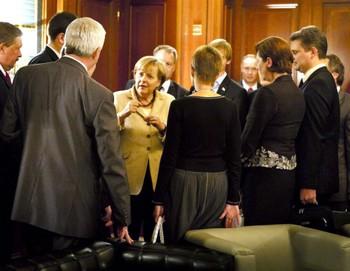 Меркель: «В Беларуси страдает оппозиция» Фото: bundesregierung.de