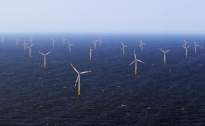 Оффшор ветряная электростанция EnBW в Балтийском море. Фото: Joern Pollex/Getty Images)