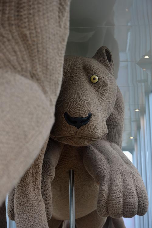 Проект «Львиное сердце» художницы Шауны Ричардсон (Shauna Richardson) в Чатсуорте (Chatsworth), Англия. Фоторепортаж. Фото:  Christopher Furlong / Getty Images