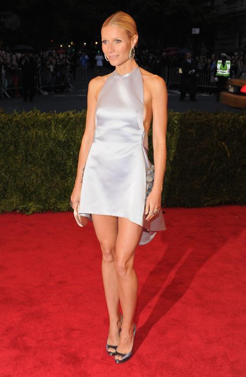 Гвинет Пэлтроу (Gwyneth Paltrow) на модном событии Нью-Йорка от «Эльза Скиапарелли и Миуччиа Прада». Фоторепортаж. Фото: Larry Busacca/Getty Images