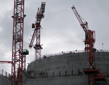 Строительство атомного реактора. Фото: KENZO TRIBOUILLARD/AFP/Getty Imesag