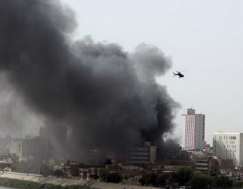 Взрывы в Багдаде. Фото: SABAH ARAR/AFP/Getty Images