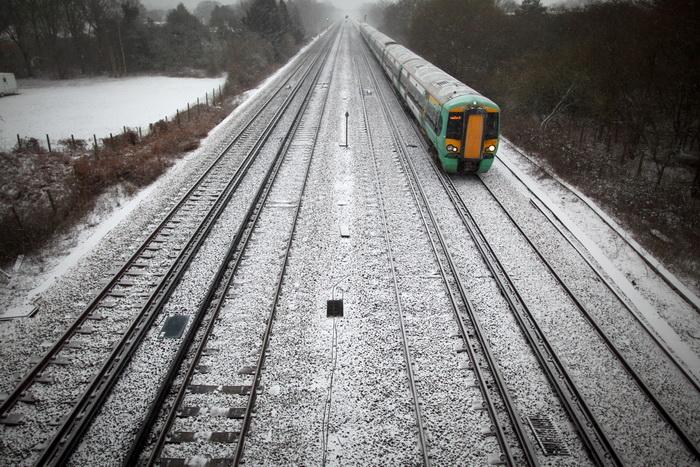Сильные снегопады в Великобритании, 17 января 2013 года. Фото: Dan Kitwood/Getty Images