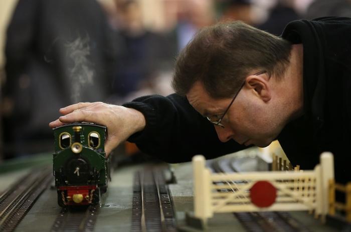 Выставка моделей инженерной техники в Лондоне, 18 января 2013 года. Фото: Peter Macdiarmid / Getty Images
