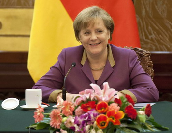 Ангела Меркель. Фото: Adrian Bradshaw-Pool/Getty Images