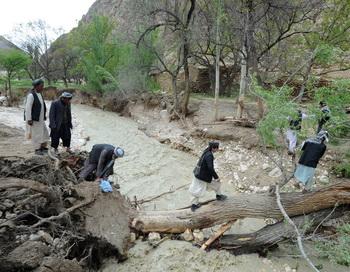 Наводнение в Сари-Пуль. Фото: QAIS USYAN/AFP/GettyImages
