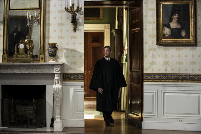 Джон Робертс, глава Верховного суда США, 20 января 2013 года, Вашингтон. Фото: Michael Reynolds-Pool/Getty Images