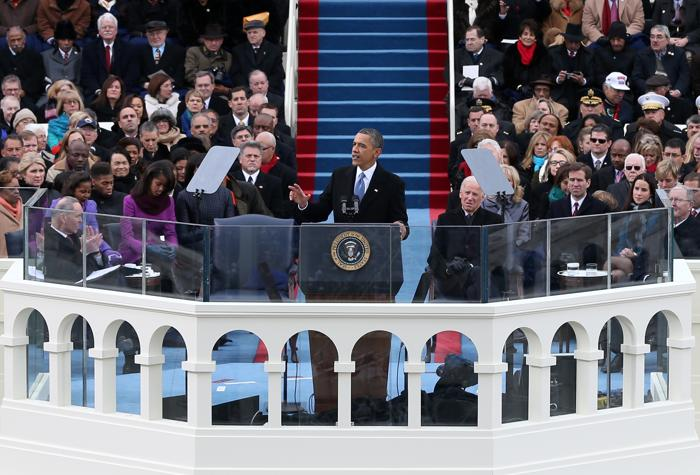 Иннаугурационная церемония у Капитолия, Вашингтон, США, 21 января 2013 года. Фото: Justin Sullivan / Getty Images