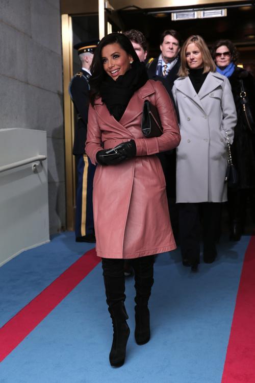 Актриса Ева Лонгория на иннаугурационной церемонии у Капитолия, Вашингтон, США, 21 января 2013 года. Фото: Win McNamee / Getty Images Иннаугурационная церемония у Капитолия, Вашингтон, США, 21 января 2013 года. Фото: