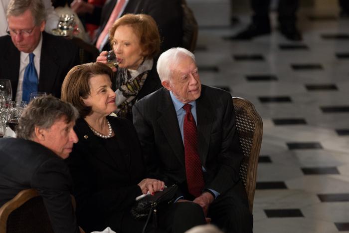 Торжественный ужин в Капитолии в день инаугурации президента США 21 января 2013 года, Вашингтон. Фото: Allison Shelley/Getty Images