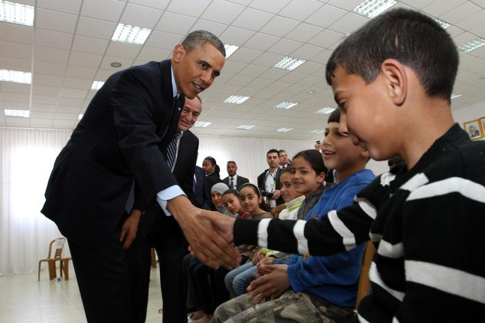 Барак Обама посетил Израиль. Фото: Alaa Badarneh-Pool/Getty Images