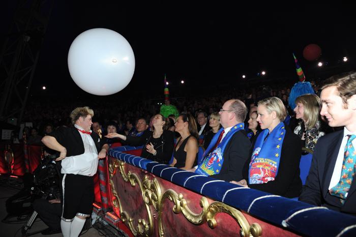 Княжество Монако провело международный фестиваль цирка в Монте-Карло, 22 января 2013 года. Фото: Gaetan Luci/Princier Palais via Getty Images