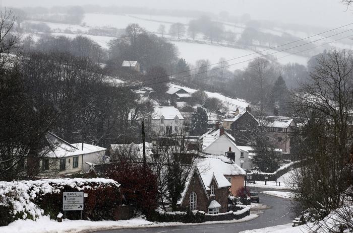 Последствия сильных снегопадов в Великобритании, 22 января 2013 года. Фото: Matt Cardy/Getty Images