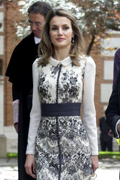 Принцесса Летиция в день вручения премии Сервантеса в городе Алкала де Энарес. Фоторепортаж. Фото: Carlos Alvares / Getty Images