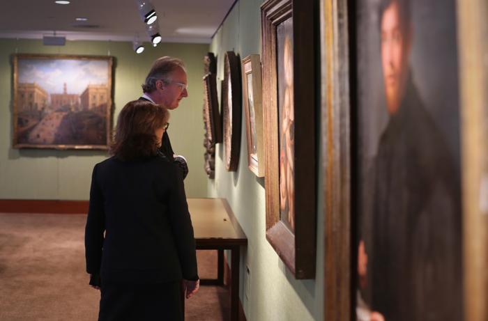 Выставка аукционного дома Christie's «Живопись Старых Мастеров» в Нью-Йорке, 24января 2013 года. Фото: John Moore / Getty Images