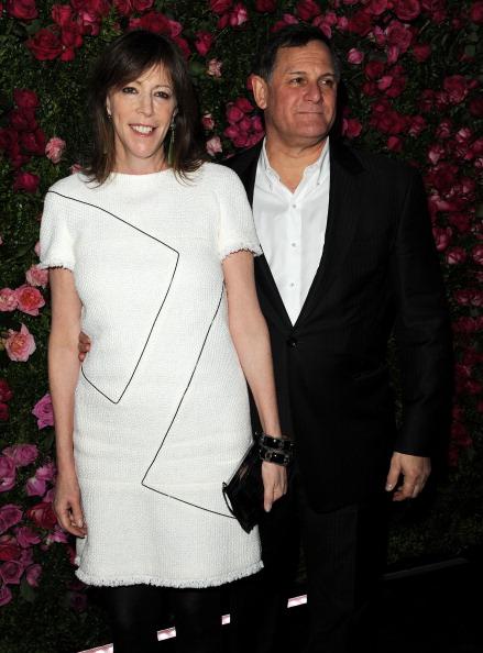 Джейн Розенталь, продюсер различных жанров кинематографа, и её муж Крейг Хаткофф,  инвестор и меценат, организаторы фестиваля, на вечере Chanel кинофестиваля Tribeca в Нью-Йорке. Фоторепортаж. Фото: Craig Barritt / Getty Images