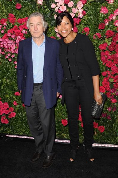 Роберт де Ниро, один из основателей фестиваля Tribeca, и его супруга Грейс Хайтауэр на вечере Chanel кинофестиваля Tribeca в Нью-Йорке. Фоторепортаж. Фото: Craig Barritt / Getty Images