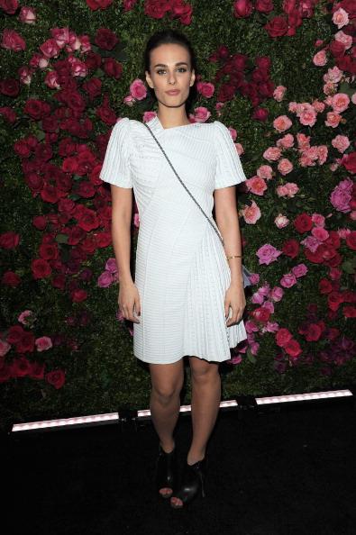 Софи Остер, актриса, модель и певица из Нью-Йорка, дочь известного писателя Пола Остера, на вечере Chanel кинофестиваля Tribeca в Нью-Йорке. Фоторепортаж. Фото: Craig Barritt / Getty Image