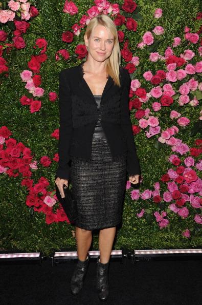 Наоми Уоттс, англо-австралийская актриса, продюсер и посол доброй воли ЮНЕЙДС, на вечере Chanel кинофестиваля Tribeca в Нью-Йорке. Фоторепортаж. Фото: Craig Barritt / Getty Images