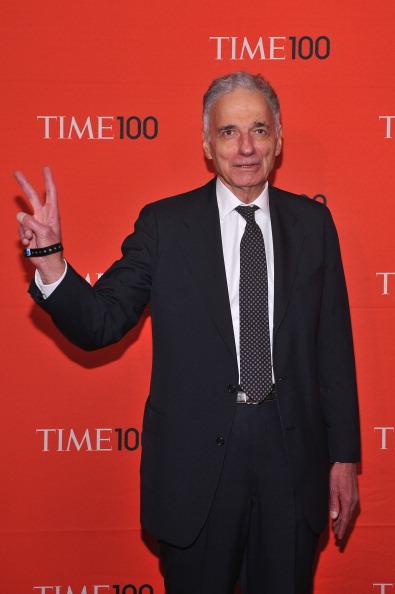 Ральф Нейдер, американский адвокат и политический активист, на праздновании Гала-100 в Нью-Йорке. Фоторепортаж. Фото: Fernando Leon/Getty Images for TIME