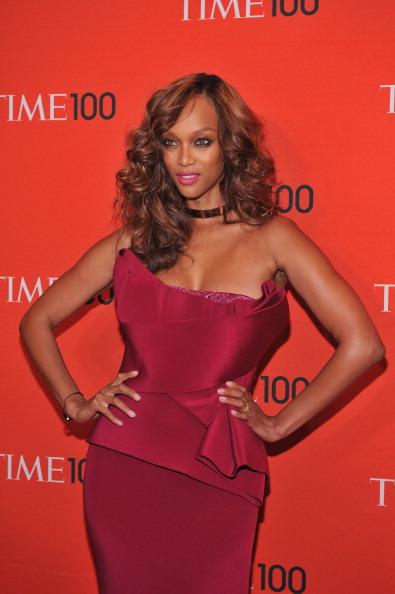 Тайра Бэнкс, американская супермодель, актриса, певица, телеведущая и продюсер, на праздновании Гала-100 в Нью-Йорке. Фоторепортаж. Фото: Fernando Leon/Getty Images for TIME