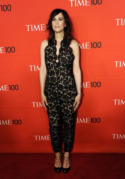 Кристен Уиг , американская актриса и телеведущая, на праздновании Гала-100 в Нью-Йорке. Фоторепортаж. Фото: Fernando Leon/Getty Images for TIME