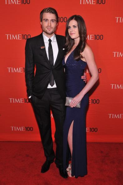 Пит Кэшмор, основатель техноблога Mashable, и его подруга Лиза Беттани, профессиональный фотограф, на праздновании Гала-100 в Нью-Йорке. Фоторепортаж. Фото: Fernando Leon/Getty Images for TIME