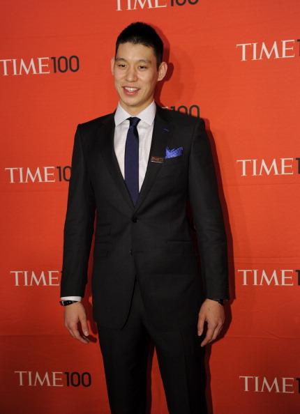 Джереми Лин, американский профессиональный баскетболист, на праздновании Гала-100 в Нью-Йорке. Фоторепортаж. Фото: Fernando Leon/Getty Images for TIME