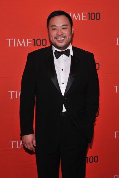Дэвид Чанг, шеф-повар, ресторатор, писатель и создатель легендарного momоfuku, на праздновании Гала-100 в Нью-Йорке. Фоторепортаж. Фото: Fernando Leon/Getty Images for TIME