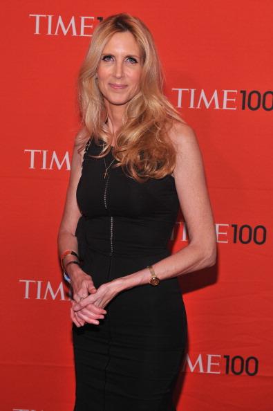 Энн Коултер, американский юрист, писатель на праздновании Гала-100 в Нью-Йорке. Фоторепортаж. Фото: Fernando Leon/Getty Images for TIME