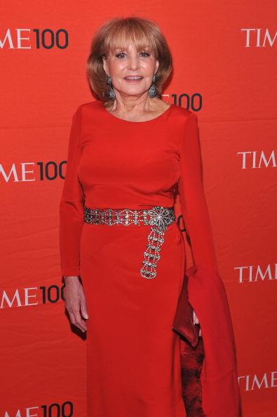 Барбара Уолтерс, американская телеведущая, журналист и писатель, на праздновании Гала-100 в Нью-Йорке. Фоторепортаж. Фото: Fernando Leon/Getty Images for TIME