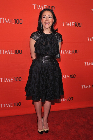Энн Карри, знаменитая журналист и ведущая новостей на NBС, на праздновании Гала-100 в Нью-Йорке. Фоторепортаж. Фото: Fernando Leon/Getty Images for TIME