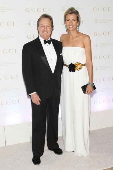 Актриса Хизер Лидс (Heather Leeds) с супругом Томом Лидсом (Tom Leeds) на ежегодном весеннем бале MSKCC в Нью-Йорке. Фоторепортаж. Фото: Neilson Barnard/Getty Images