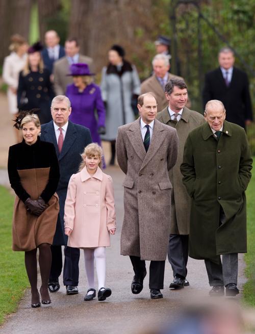 Семья англии в сандрингене англия