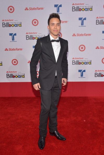 Принц Ройс (Prince Royce), певец с городским стилем из Нью-Йорка, на церемонии вручения музыкальных премий Billboard Latin Music Awards 2012 в Майами. Фоторепортаж. Фото: Rodrigo Varela/Getty Images