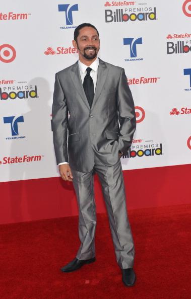 Шалим Рубьялес (Shalim Rubiales) на церемонии вручения музыкальных премий Billboard Latin Music Awards 2012 в Майами. Фоторепортаж. Фото: Rodrigo Varela/Getty Images