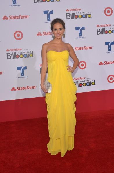 Андреа Мински (Andrea Minski), на церемонии вручения музыкальных премий Billboard Latin Music Awards 2012 в Майами. Фоторепортаж. Фото: Rodrigo Varela/Getty Images