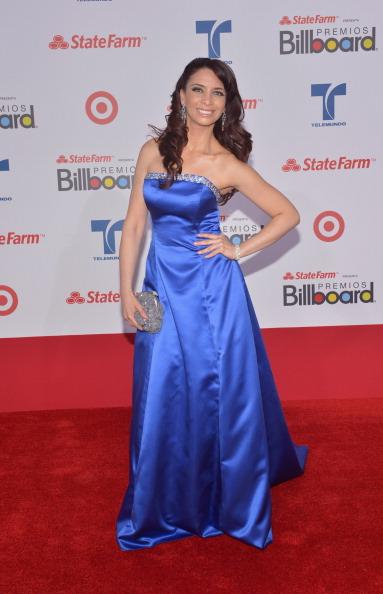 Розанна Пена (Rosanna Pena) на церемонии вручения музыкальных премий Billboard Latin Music Awards 2012 в Майами. Фоторепортаж. Фото: Rodrigo Varela/Getty Images