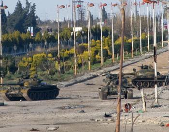 Сирийские танки. Фото: -/AFP/GettyImages