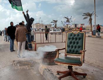Ситуация в Ливии. Фото РИА Новости