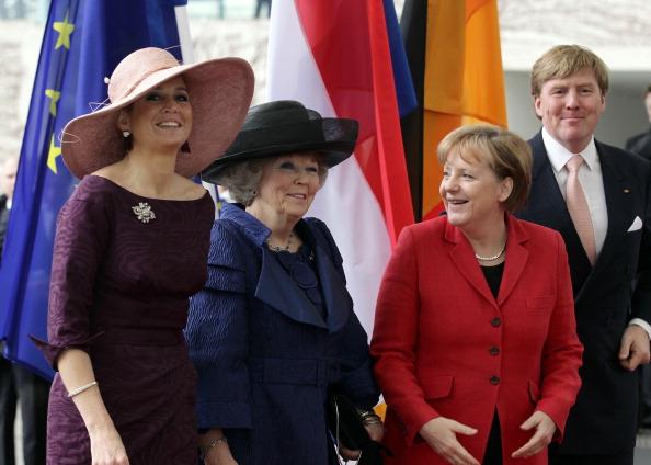 Королевская семья Нидерландов в Германии, 12 апреля 2011. Фото: Sean Gallup/Getty Images