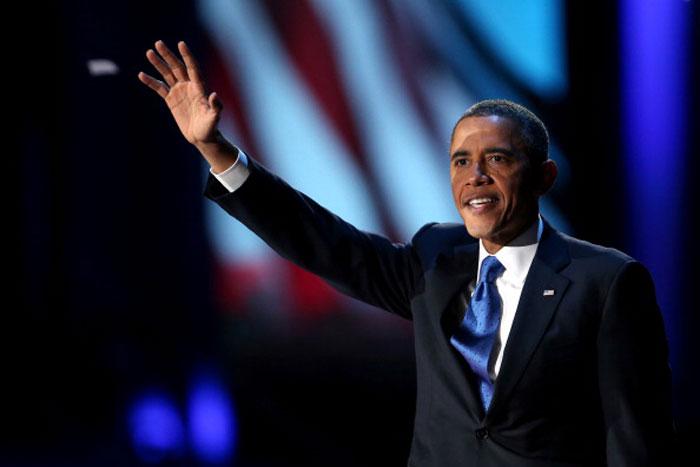 Действующий Президент США Барак Обама, по предварительным данным, одержал победу на президентских выборах в США. Фото: Spencer Platt/Getty Images