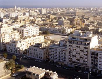 Город Бенгази. Фото РИА Новости