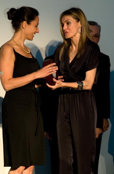 Фоторепортаж о принцессе Летиции на церемонии открытия Музея современного искусства. Фото:Robert Marquardt/Getty Images